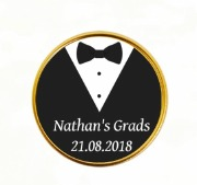 15PK Grads Chocolate Coins