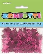 Hot Pink Stardust Confetti