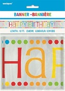 Rainbow Birthday Banner