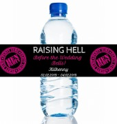 4PK Raising Hell Bottle Labels