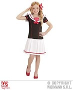Sailor Girl Kids Costume