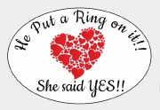 8PK She Said Yes Label