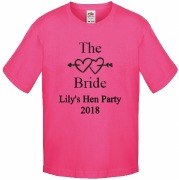The Bride Pink T-Shirt