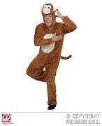 Adult Plush Monkey Costume
