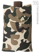 Army Camouflage Bottle Bag