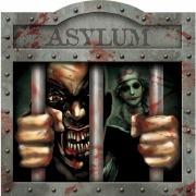 Asylum Horror Sign