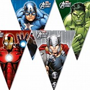 Avengers Power Flag Banner