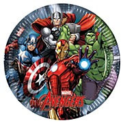 Avengers Power Party Plates