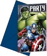 Avengers Assemble Invitations