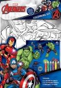 Avengers Colouring Set