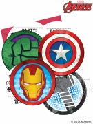 Avengers Mighty Invitations