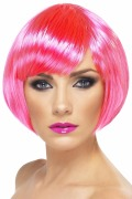 Babe Neon Pink Wig