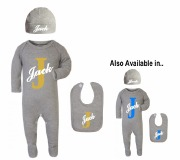 Personalise Baby Boy Set