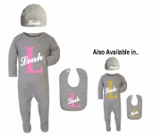 Personalised Baby Girl Set