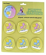 Baby Shower Badges