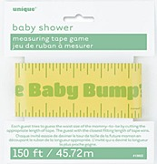 Baby Shower Measuring Tape