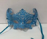 Baby Blue Masquerade Mask
