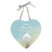 Baby Boy Reflection Plaque