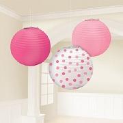 Baby Girl Lanterns