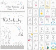 Baby Memorable Moment Cards