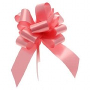 Baby Pink Pull Bow Ribbon
