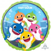 Baby Shark Foil Balloon