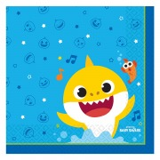 Baby Shark Party Napkins