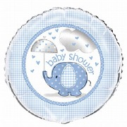 Baby Shower Blue Balloon