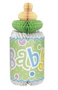 Baby Shower Honeycomb Bottle
