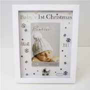 Baby's First Christmas Frame