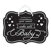 Babyshower Chalkboard
