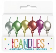 Balloon Birthday Candles