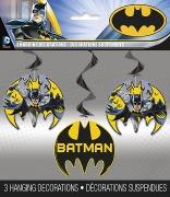 Batman Party Swirls