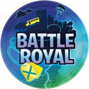 Battle Royal Party Plates