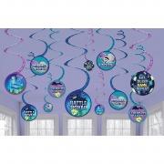 Battle Royal Swirl Decorations