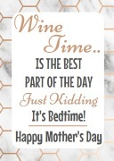 4PK Bedtime Mother Day Labels