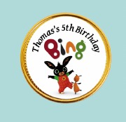 15Pk Bing Chocolate Coins