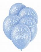 Birthday Blue Balloons