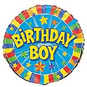 Birthday Boy Foil Balloon