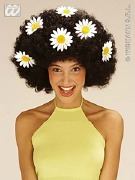 Black Afro Daisy Wig