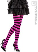 Black and Pink Tights