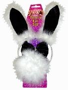 Black Bunny Ear Set