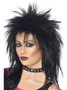 Black Rock Diva Wig