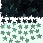 Black Stardust Confetti