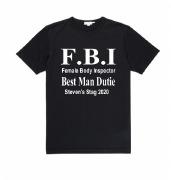 Black F.B.I Bestman T-Shirt