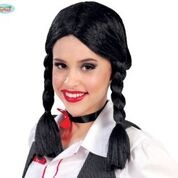 Black Plait Wig