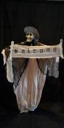 Skull Ghost Halloween Prop