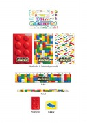 Blocks Stationery Set