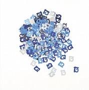 13th Blue Confetti