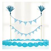 Blue Communion Cake Banner